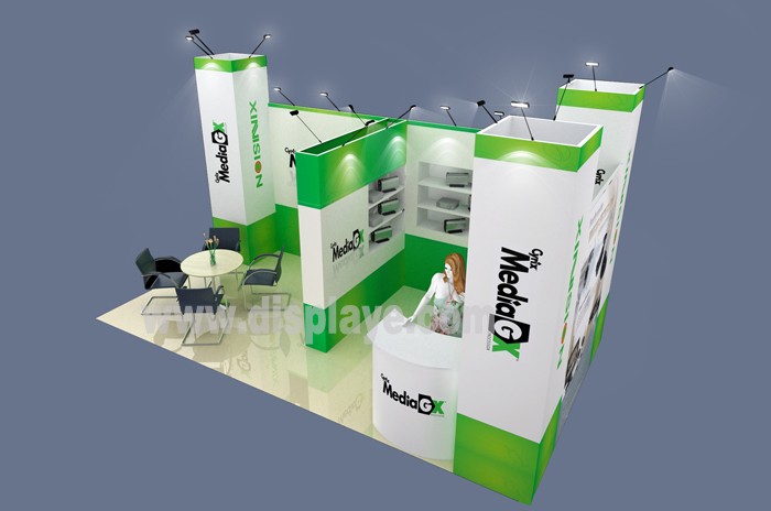 德国柏林电子电器展-展台设计搭建效果图