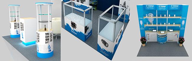 可拆装式展柜,展架设计制作